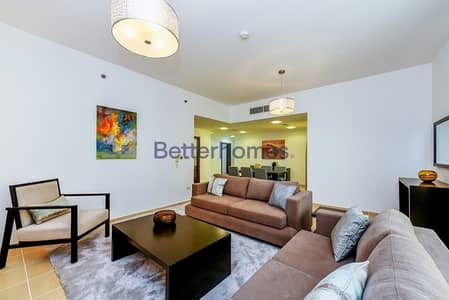 3 Bedroom Apartment for Rent in Jumeirah Beach Residence (JBR), Dubai - 2Months Rent Free I Full Marina View I 3br with maids I Shams 1