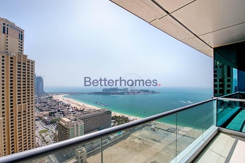 Al Fattan Tower |Higher Floor | Sea View