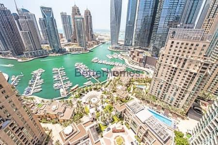 3 Bedroom Apartment for Sale in Dubai Marina, Dubai - Full Marina/Amazing 3 bedroom plus Maid's