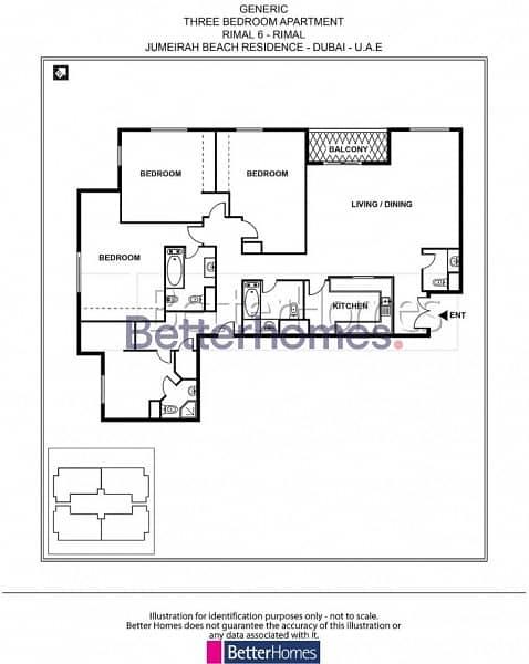 12  3 BEDROOMS