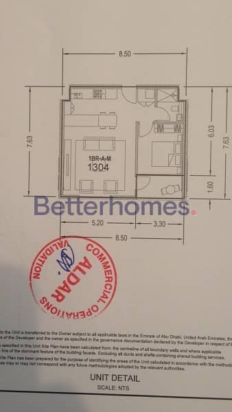 11 Ready to move in One Bedroom in Meera Tower 2