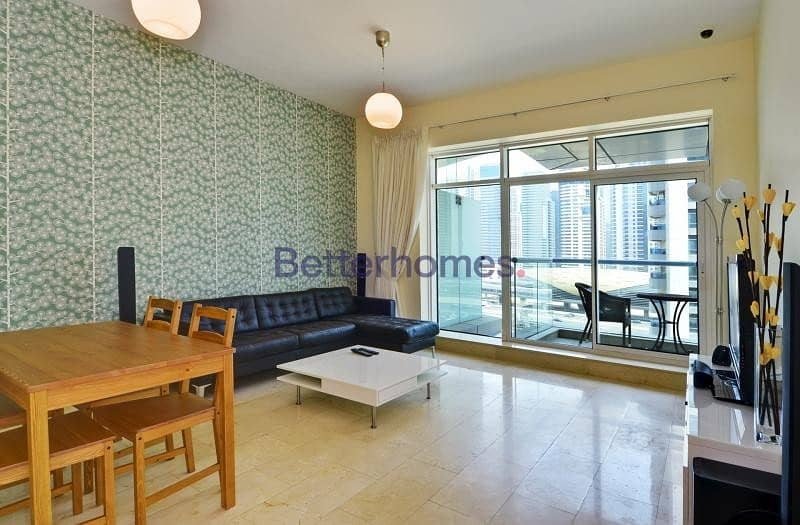 Fully Furnished | 1 Bed |Bayside Residence