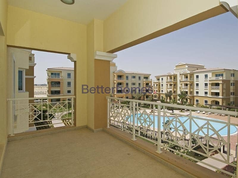 Pool View | Storage | Parking | Vacant