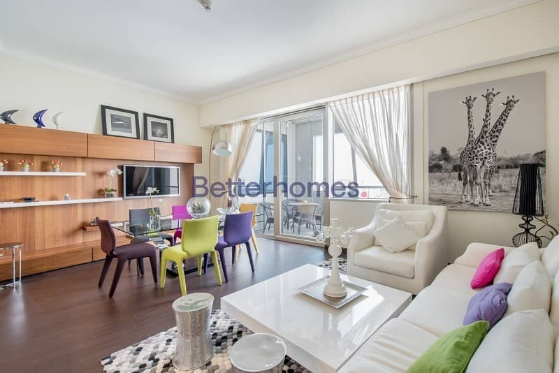 Fully Furnished | High Floor | Balcony