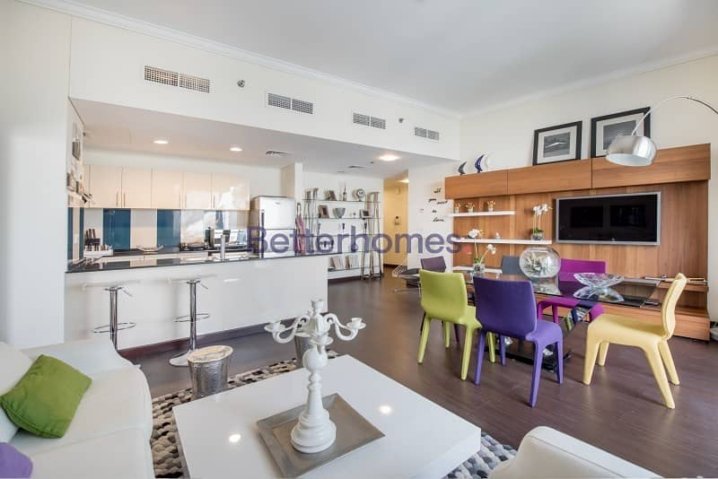 2 Fully Furnished | High Floor | Balcony
