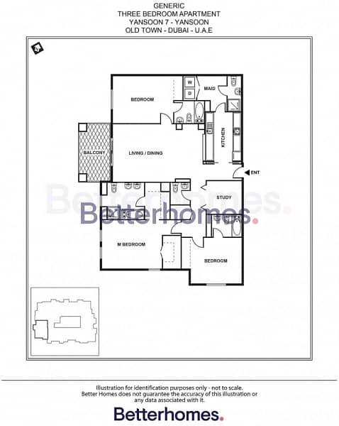 11 Community View | Three bed plus maids