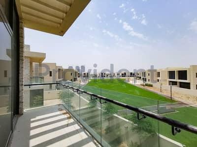 تاون هاوس 5 غرفة نوم للايجار في داماك هيلز (أكويا من داماك)، دبي - Single Row Great Price Type THD Landscaped