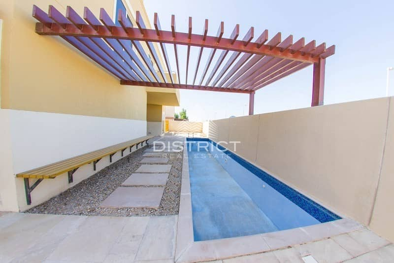 11 Stunning 4 BR Villa with Pool in Al Raha