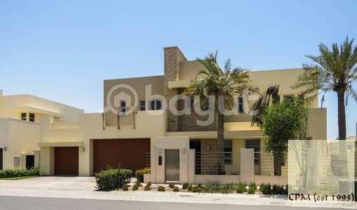 6 Bedroom Villa for Rent in Saadiyat Island, Abu Dhabi - Modern Executive  6 BED Villa + Garden &Swimming Pool- For Rent or Sale  13.8M