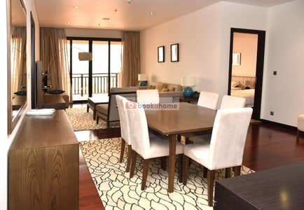 1 Bedroom Apartment for Rent in Palm Jumeirah, Dubai - Sea View in Anantara Residence available for short and long term
