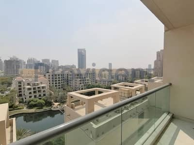 1 Bedroom Apartment for Rent in The Views, Dubai - Full Canal View | Corner Unit | Vacant Now
