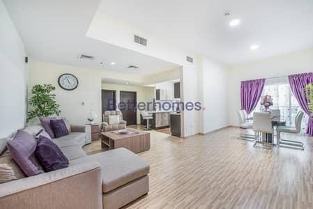 شقة 2 غرفة نوم للبيع في مدينة دبي الرياضية، دبي - Upgraded |Unfurnished | Mid Floor | Vacant