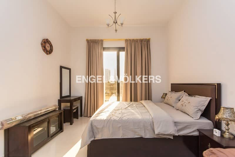 Fully Furnished Low Floor Golf Course View