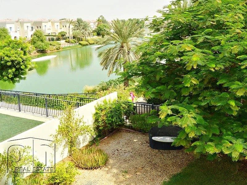 10 Great Condition - 3E Al Reem Backing Lake