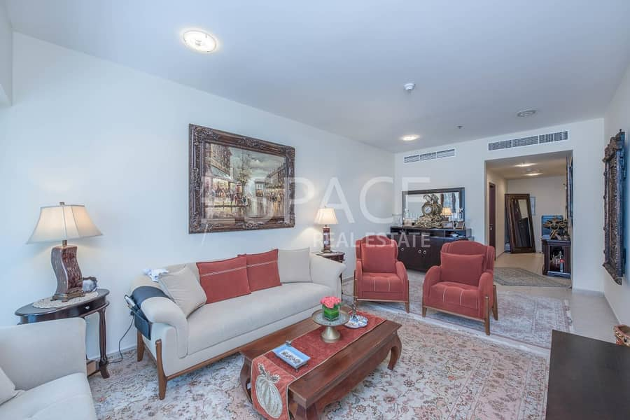 Furnished Apartment - Balcony - Sea View