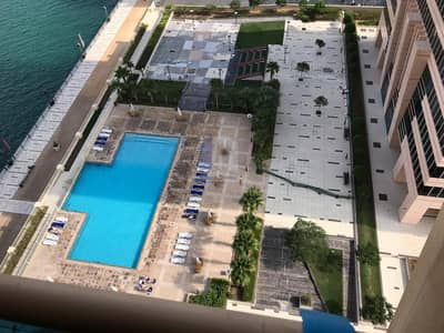 1 Bedroom Apartment for Rent in Business Bay, Dubai - Pool View | Fantastic 1 bedroom Apartment| churchill Residence