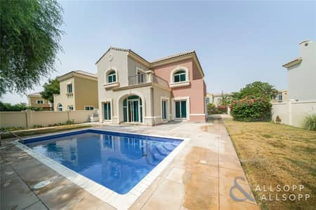 5 Bedroom Villa for Sale in Dubai Sports City, Dubai - Vacant | 5 Bed C2 | Pool | Backing Park
