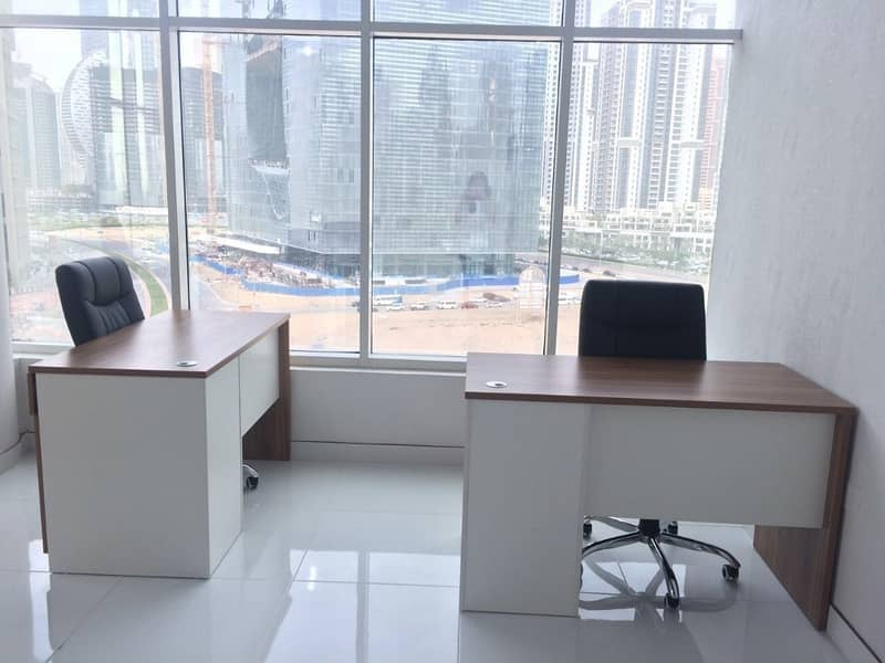 2 Fully Furnished Office for Rent in Dubai
