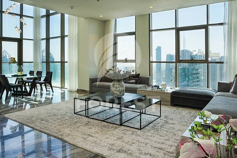 2 Brand New Penthouse with Marina and Skyline View