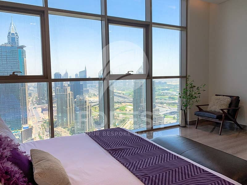 10 Brand New Penthouse with Marina and Skyline View