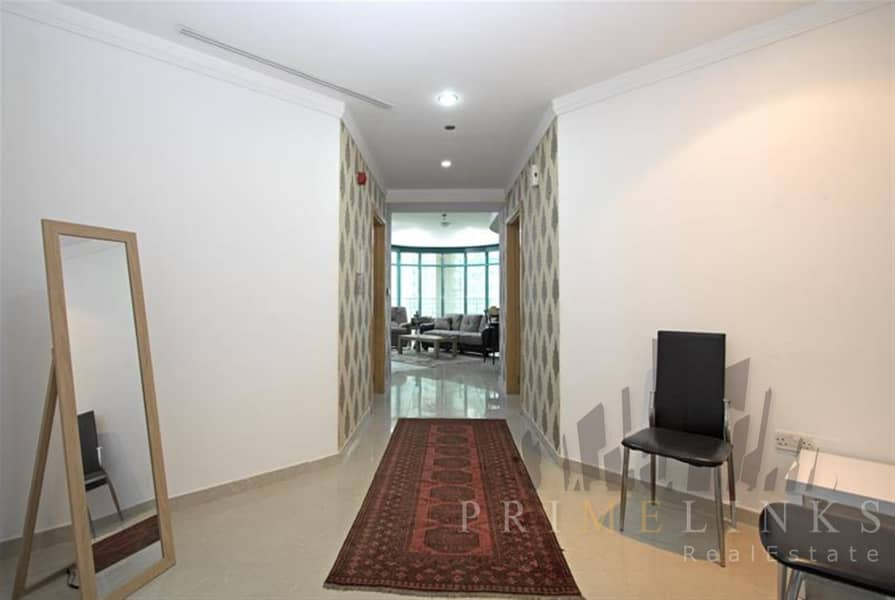 2 Fully furnished  2 Beds High Floor with balcony