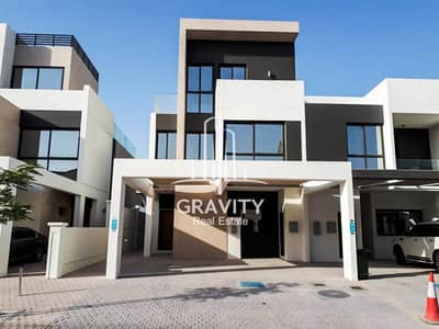 5 Bedroom Townhouse for Sale in Al Salam Street, Abu Dhabi - Magnificent Townhouse with luxurious modern design in Faya