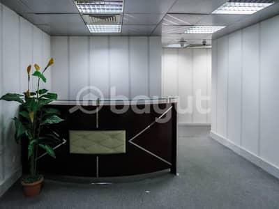 مکتب  للايجار في شارع حمدان، أبوظبي - بدون عمولة - للايجار مكتب تجاري - شارع حمدان