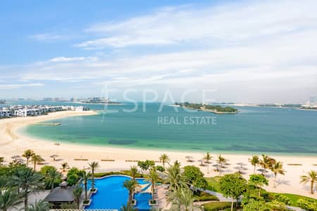 3 Bedroom Flat for Sale in Palm Jumeirah, Dubai - Amazing Sea Views | Direct Beach Access