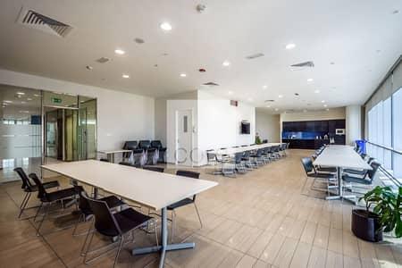 طابق تجاري  للايجار في مركز دبي المالي العالمي، دبي - Vacant | Half Floor | Prime Location