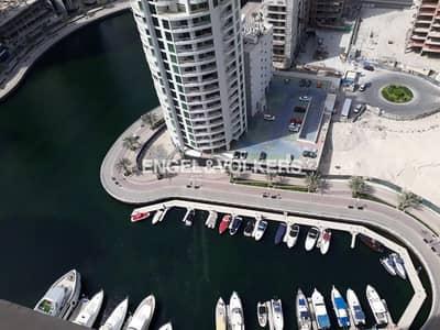 شقة 1 غرفة نوم للبيع في دبي مارينا، دبي - Breathtaking View|High Floor|Top Location