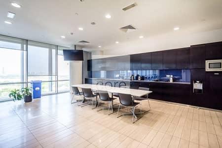مکتب  للايجار في مركز دبي المالي العالمي، دبي - Quarter Floor | Fully Fitted | Freezone