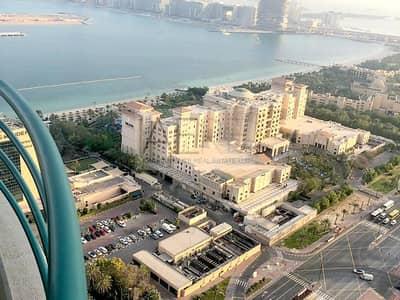 فلیٹ 3 غرفة نوم للايجار في دبي مارينا، دبي - Fully-furnished 3 Bed On Higher floor w/ Sea View