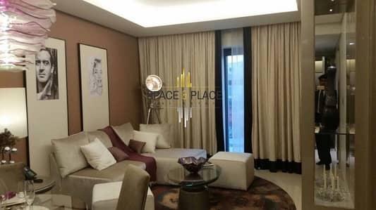 شقة فندقية 3 غرفة نوم للايجار في الخليج التجاري، دبي - For Rent: 3BR + Maid's Luxury Hotel Apartment | 200K / 6 CHQS | Burj Khalifa and Creek View