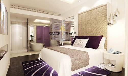 شقة فندقية 2 غرفة نوم للايجار في الخليج التجاري، دبي - For Rent: 2BR + Maid's Luxury Hotel Apartment | 150K / 6 CHQS | Burj Khalifa and Creek View