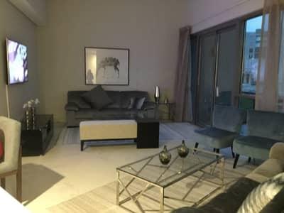 فلیٹ 1 غرفة نوم للبيع في الفرجان، دبي - ادفع 60 الف واسكن في شقتك فورا المفروشه بالكامل وقسط الباقي