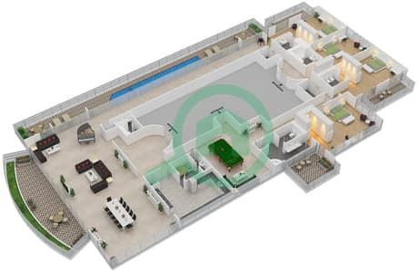 The Jewels - 4 Bedroom Penthouse Type EMERALD Floor plan