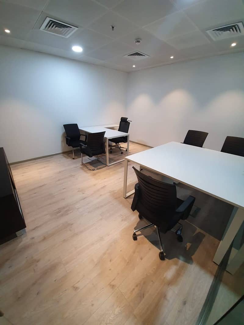 12 Reasonable rate for Luxury Serviced Office