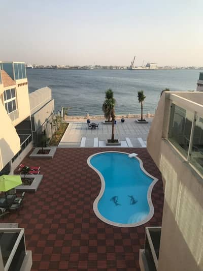 2 Bedroom Villa for Rent in Between Two Bridges (Bain Al Jessrain), Abu Dhabi - EUROPEAN COMPOUND TWO BEDROOMS WITH BIG BALCONY
