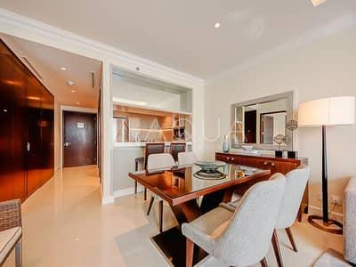 فلیٹ 1 غرفة نوم للبيع في وسط مدينة دبي، دبي - Full Burj view| Fully Funished | 5 Star Hotel