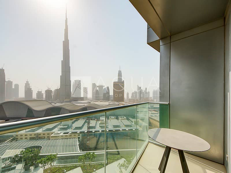 13 Full Burj view  Fully Funished   5 Star Hotel
