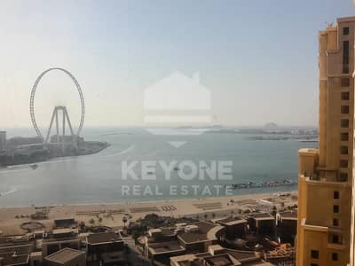 3 Bedroom Apartment for Rent in Jumeirah Beach Residence (JBR), Dubai - Amwaj 3 | Cozy 3BR | Marina and Sea View