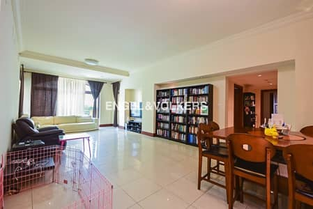3 Bedroom Flat for Sale in Palm Jumeirah, Dubai - Exclusive I Low Floor I Extended Terrace