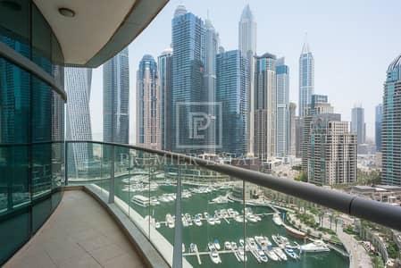 2 Bedroom Flat for Rent in Dubai Marina, Dubai - Marina View 2BR + maids with basement storage room