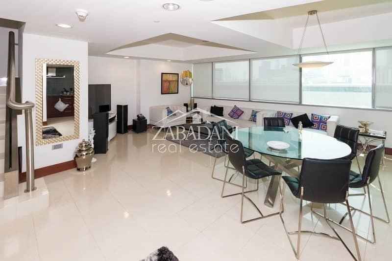 Amazing 2 Bedroom Duplex in World Trade Centre Residences