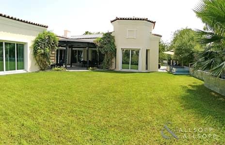 4 Bedroom Villa for Sale in Green Community, Dubai - Corner Unit Bungalow   Upgraded   Large Plot