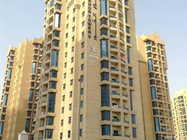 شقة في أبراج الخور عجمان وسط المدينة 2 غرف 300000 درهم - 4206636
