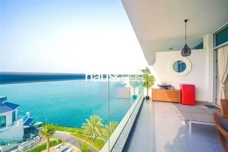 فلیٹ 1 غرفة نوم للبيع في نخلة جميرا، دبي - Vacant on Transfer | Mid Floor with Full Sea View