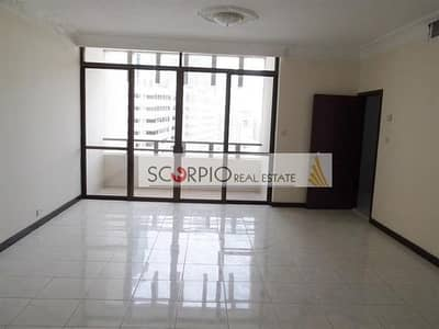 2 Bedroom Flat for Rent in Al Jafiliya, Dubai - 1 Month Free !! Refurbished 2 BR with 2 Balconies in Jafiliya for Family only 65 k/ 6
