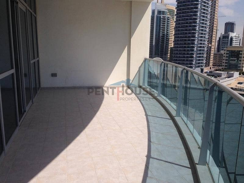 2 Amazing 3 bed Full Marina view with maid room