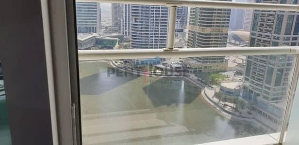 شقة 1 غرفة نوم للايجار في أبراج بحيرات جميرا، دبي - Beautifully furnished 1 bed Full Lake View